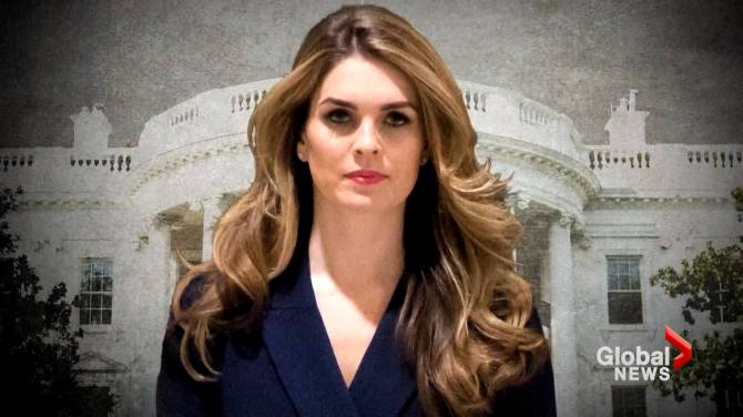 White House communications director Hope Hicks resigns ...