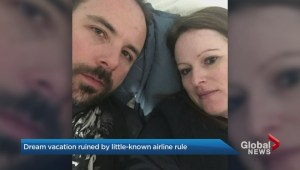 Ontario couple lose trip over middle name mix-up