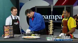 Pampa Brazilian Steakhouse in the Global Edmonton kitchen: Part 1 of 3