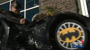 Alberta boy's wheelchair transformed into Batmobile for Halloween