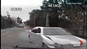 Seattle Police release video of dramatic high-speed chase following Amber Alert