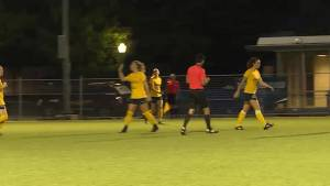 Kingston Clippers in first place in Premier Womens Soccer League