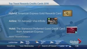 Canada's top travel rewards credit cards