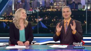 Global News at 11 Edmonton says goodbye to producer Nicole de Champlain