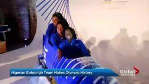 Nigerian bobsleigh team set to compete at Pyeongchang 2018