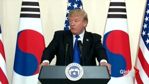 Trump calls for North Korea to 'make a deal'