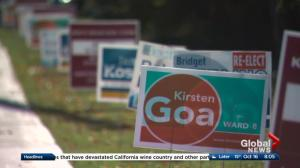 Global News coverage of Edmonton election