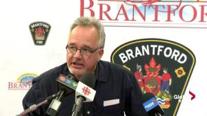 Officials in Brantford provide update on Grand River ice jams, flooding