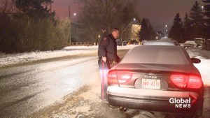 Calgary police continue Operation Cold Start, warning drivers about warming up unattended cars