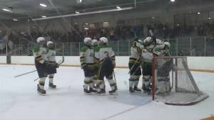 The Amherstview Junior C Jets are flying high