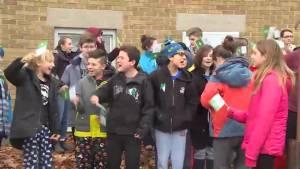 Francophone students protest provincial cutbacks
