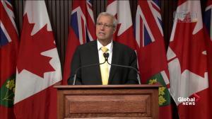 Ontario Progressive Conservatives appoint Vic Fedeli interim leader