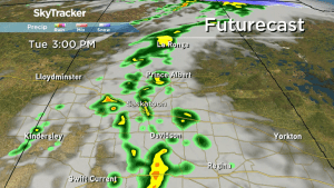 Weather advisory for possible funnel clouds in Sask.