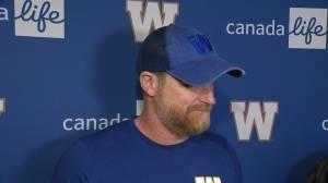 RAW: Blue Bombers Mike O'Shea Media Briefing – July 3