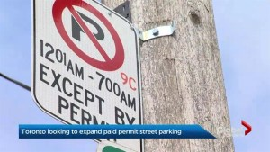 Overnight permit parking in Toronto likely to expand