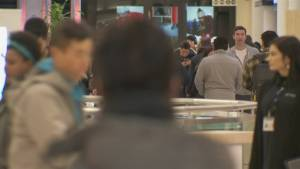 Last minute gift seekers crowd malls for busiest shopping day of the year