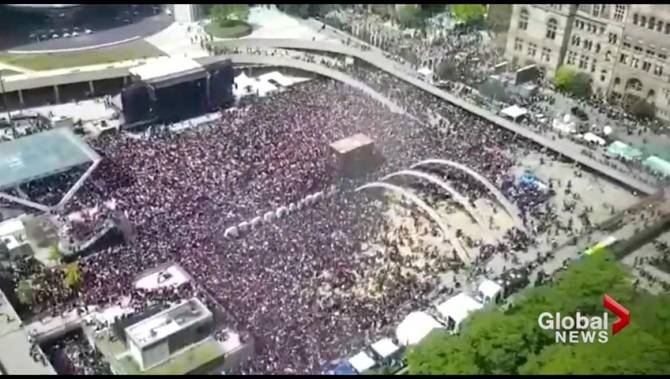 'Lessons to be learned' after chaotic Toronto Raptors parade