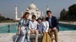Trudeau family visits Taj Mahal