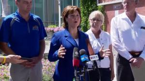B.C. Premier Christy Clark says wildfires are a 'tragic, alarming, frightening event'