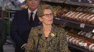 Wynne: Gov't has a responsibility to keep prices low for all commodities