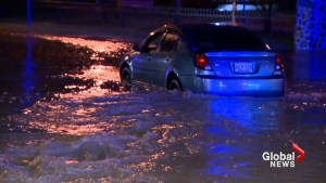 Hamilton residents cope with flooding after heavy rains
