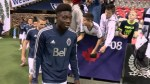 Whitecaps bid farewell to Alphonso Davies