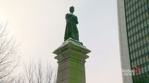 2 Queen Victoria statues in Montreal vandalized