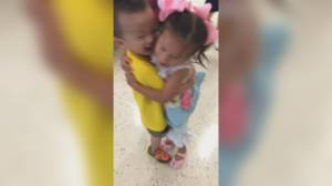 Best friends from Chinese orphanage reunited after both adopted by Texas neighbours