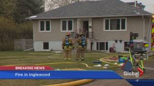 Fire breaks out in vacant Inglewood home
