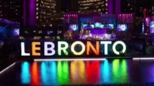 LeBronto: Critics slamming Raptors over Game 2 loss (01:02)