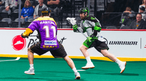 Kyle Buchanan leads San Diego Seals over Saskatchewan Rush 13-12