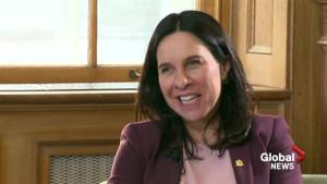 Valérie Plante settles into new office