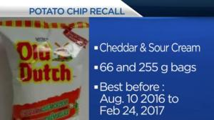 Health Matters: Potato chip recall, treating ear infections in children