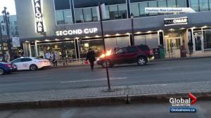 Arrest made after vehicles set on fire on Edmonton's Whyte Avenue
