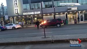 Arrest made after vehicles set on fire on Edmonton's Whyte Avenue