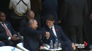 Actions speak louder than words: Trudeau's thumbs up to Putin