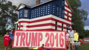 Our house is a very, very, VERY Trump house