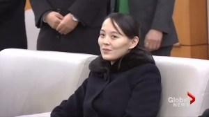 Kim Jong Un's sister returns to Pyongyang after visit to South
