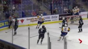 Saskatoon Blades melt Kootenay Ice 4-2, extend their win streak to 7