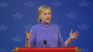 Hillary Clinton takes aim at Donald Trump's visit to Mexico saying 'that's not how it works'