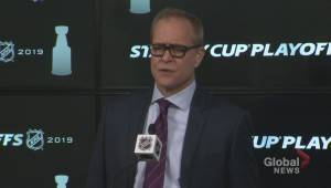 RAW: Winnipeg Jets Paul Maurice Post Game Reaction – Apr. 12 (04:35)