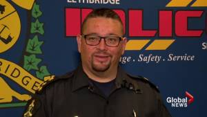 Chief of Lethbridge police addresses surprise resignation