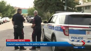 Calgary city council approves police budget