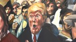 Kingston artist finishes fourth and final Trump protest painting