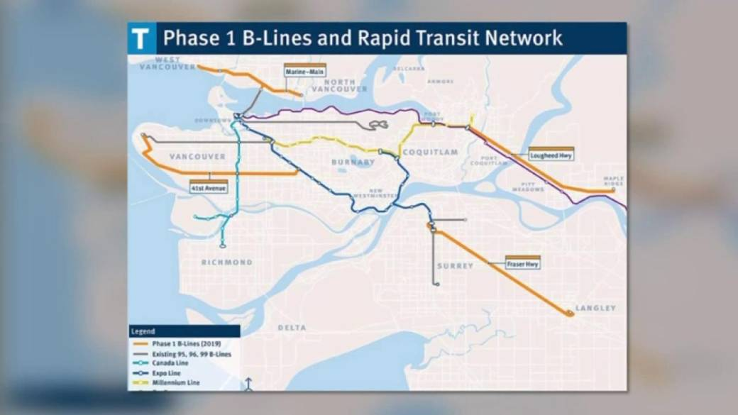 4 New B Line Express Bus Routes To Link North Shore