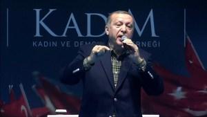 Erdogan compares German conduct with Nazi period