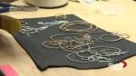 Edmonton designer uses retired instrument strings to make jewelry