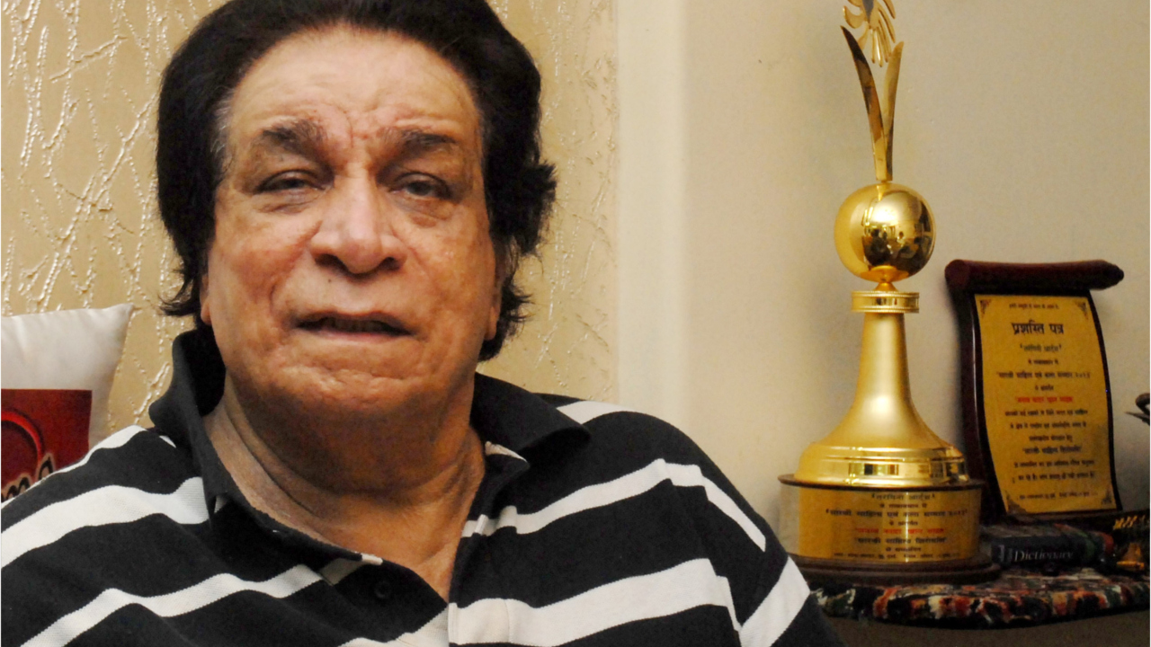 Veteran Bollywood actor-writer Kader Khan has passed away