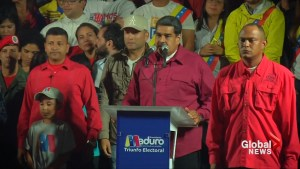 Maduro wins re-election in Venezuela amid outcry over vote