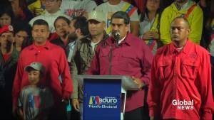 Maduro wins re-election in Venezuela amid outcry over vote